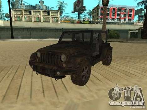 Jeep Wrangler SE para GTA San Andreas