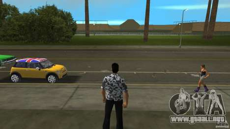 Hawaii Hemd para GTA Vice City segunda pantalla