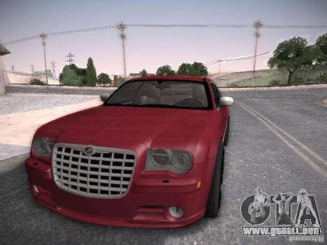 Chrysler 300C SRT8 para GTA San Andreas vista posterior izquierda