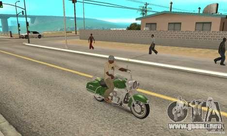 Harley Davidson Road King para la visión correcta GTA San Andreas