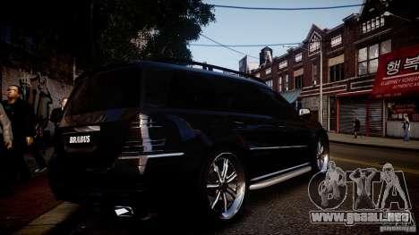 Mercedes-Benz GL450 Brabus Black Edition para GTA 4 visión correcta