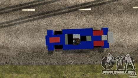 LEGOCAR para GTA 4 visión correcta