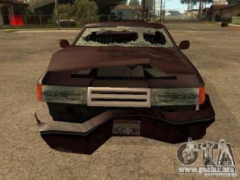 Daños realista para GTA San Andreas octavo de pantalla