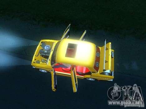 VAZ 2106 SPARKO para visión interna GTA San Andreas