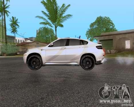 BMW X6 para GTA San Andreas left