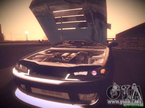 Nissan Silvia S15 para GTA San Andreas interior