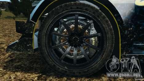 Colin McRae Hella Rallycross para GTA 4 vista hacia atrás