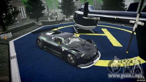 Gumpert Apollo Sport v1 2010 para GTA 4 vista interior
