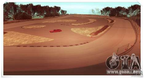 The Ebisu South Circuit para GTA San Andreas segunda pantalla