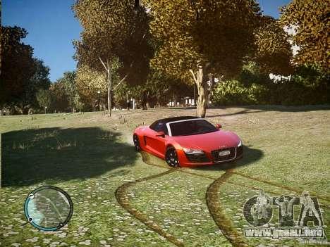Audi R8 Spyder 5.2 FSI Quattro V4 [EPM] para GTA 4 left