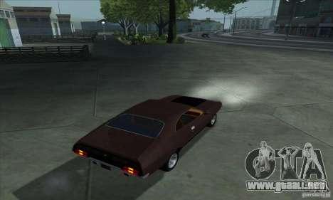 Ford Falcon GT Pursuit Special V8 Interceptor para GTA San Andreas left