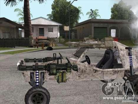 Turbo car v.2.0 para la visión correcta GTA San Andreas