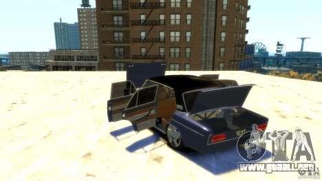 VAZ 2103 Street Tuning para GTA 4 vista superior