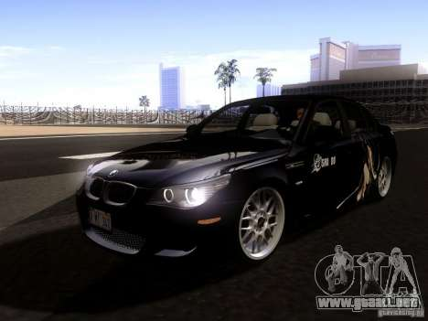 BMW M5 E60 2009 para GTA San Andreas