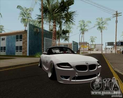 BMW Z4 Hellaflush para GTA San Andreas left