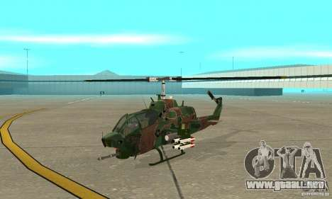 AH-1 super cobra para GTA San Andreas left