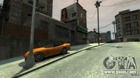 The real Poster Mod para GTA 4 tercera pantalla