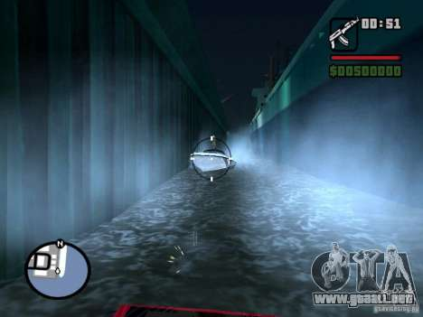Great Theft Car V1.0 para GTA San Andreas sexta pantalla