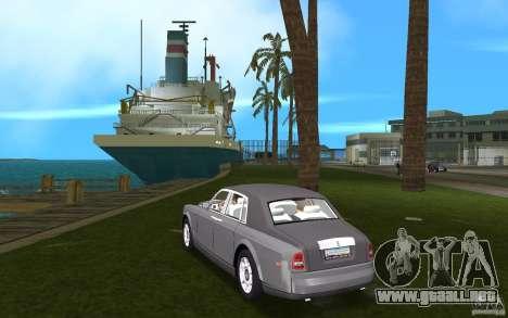 Rolls Royce Phantom para GTA Vice City vista lateral izquierdo