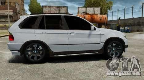 BMW X5 4.8IS BAKU para GTA 4 left