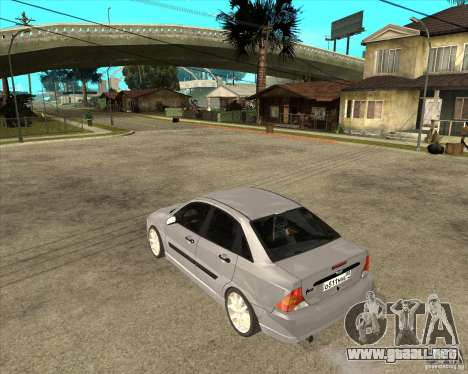 Ford Focus Sedan para GTA San Andreas left