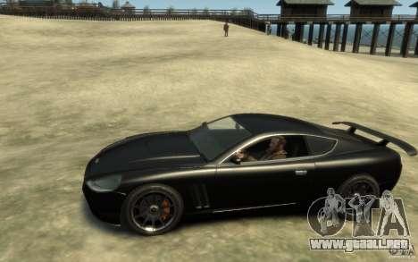 Aston Martin DB9 Super GTR beta para GTA 4 left