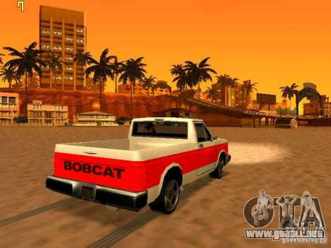 El nuevo gráfico de jeka_raper para GTA San Andreas octavo de pantalla