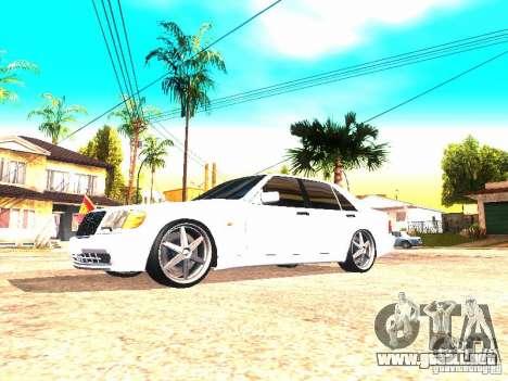 Mercedes-Benz S600 AMG para GTA San Andreas left