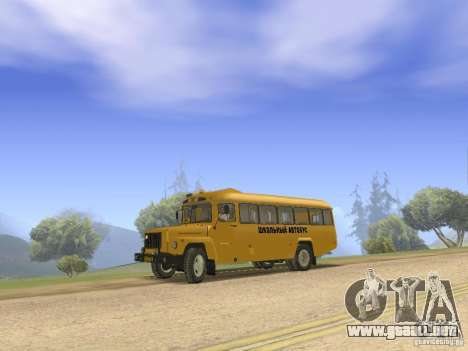 Pequeño KAVZ-39765 para GTA San Andreas