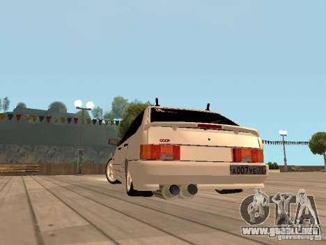 BESTIA ВАЗ 2114 para la visión correcta GTA San Andreas