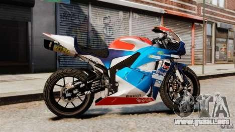 Honda CBR 600RR para GTA 4 left