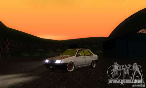 VAZ 21099 rata Mira para GTA San Andreas