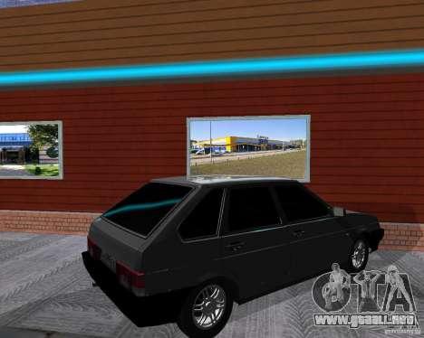 VAZ 2109 Sputnik para la visión correcta GTA San Andreas