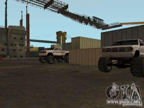 Huge MonsterTruck Track para GTA San Andreas séptima pantalla