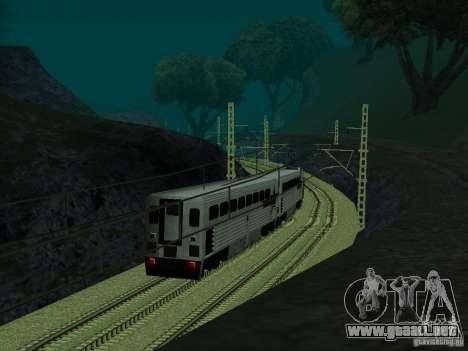 Línea ferroviaria de alta velocidad para GTA San Andreas quinta pantalla
