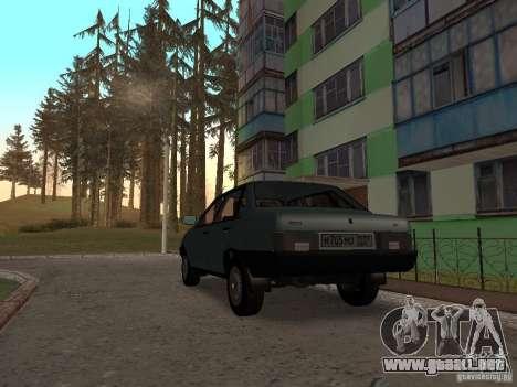 VAZ 21099 CR v. 2 para GTA San Andreas vista posterior izquierda