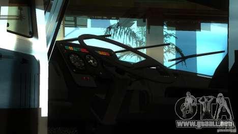 ZIL 5417 SuperZil para GTA San Andreas vista hacia atrás