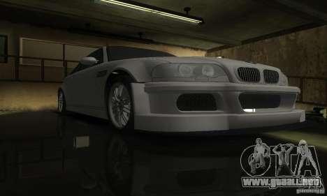 BMW M3 Tuneable para visión interna GTA San Andreas