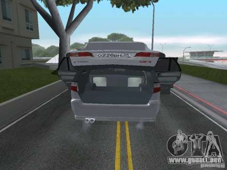 Mitsubishi Legnum para GTA San Andreas vista hacia atrás