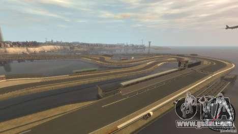 Pista de carreras para GTA 4 tercera pantalla