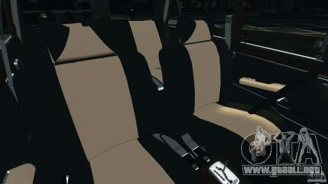 Mercedes-Benz 300Sel 1971 v1.0 para GTA 4 vista interior