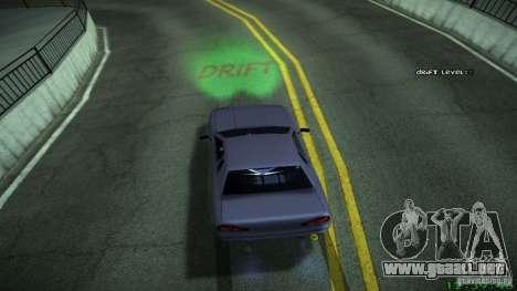 Nuevos efectos 1.0 para GTA San Andreas sexta pantalla