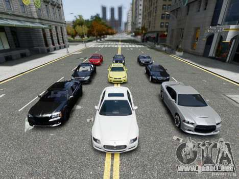 Real Car Pack 2013 Final Version para GTA 4 tercera pantalla