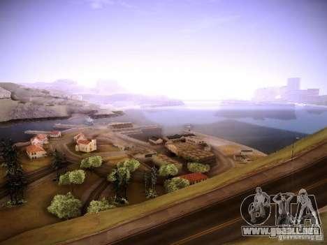 New ENBSeries para GTA San Andreas segunda pantalla