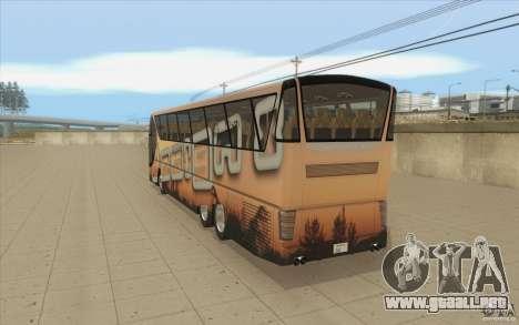Design-X6-Public Beta para GTA San Andreas vista posterior izquierda