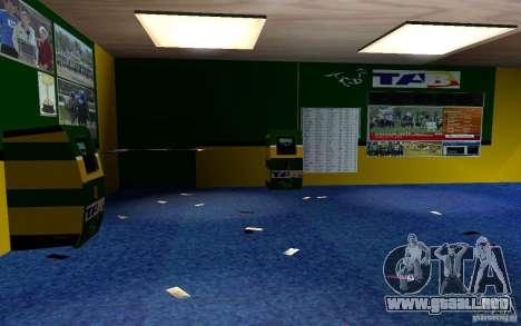 Nueva oficina de Bukmejkerskaâ para GTA San Andreas