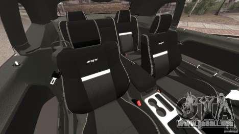 Dodge Challenger SRT8 392 2012 Police [ELS][EPM] para GTA 4 vista interior