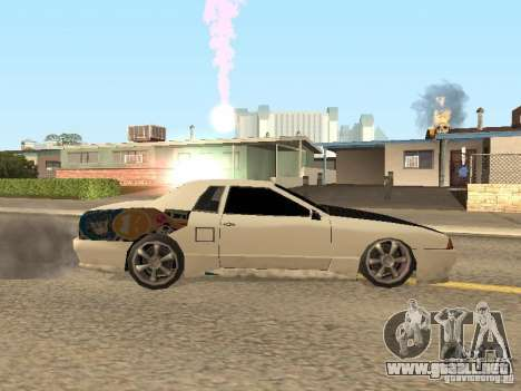 Elegía por Foresto_O para GTA San Andreas vista posterior izquierda