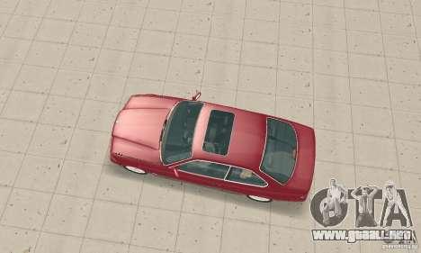 BMW 325i Coupe para GTA San Andreas vista posterior izquierda