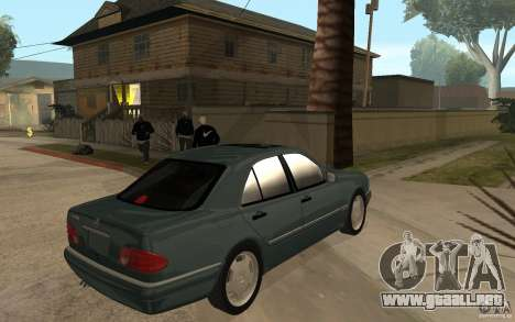 Mercedes-Benz E420 W210 1997 para la visión correcta GTA San Andreas